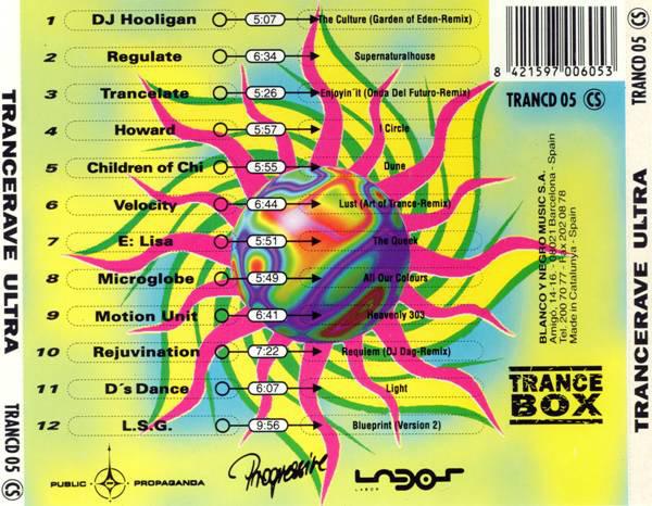 Trancerave ultra ellodance trancerave ultra 1995 trance box blanco y negro malvernweather Choice Image