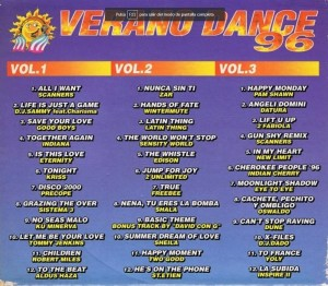 Verano Dance 96 Bit Music 1996 MegaMix Marcelo Astorga