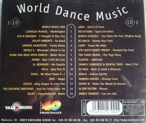World Dance Music 1998 Max Music WDM Album Recopilatorio MegaMix