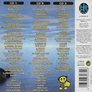 100% Numeros Uno 1998 Bit Music