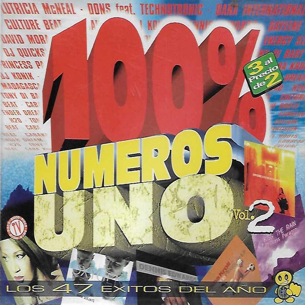 100% Numeros Uno 1998