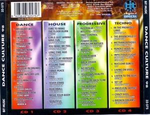 Dance Culture 98 Bit Music 1998