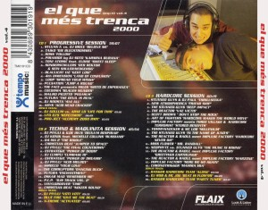 El Que Més Trenca Vol. 4 Tempo Music 2000