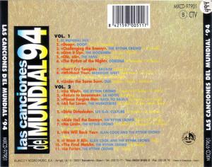 Las Canciones Del Mundial 94 Blanco Y Negro 1994