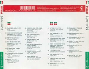 Pacha Ibiza Summer 99 Vendetta Records Blanco Y Negro Music 1999