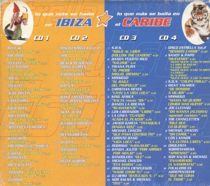 Disco Estrella Vol  2 - 4 CD's - 1999 - Vale Music - ellodance