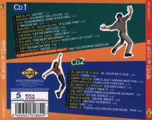 Al Salir De Clase 1998 Max Music Album Recopilatorio