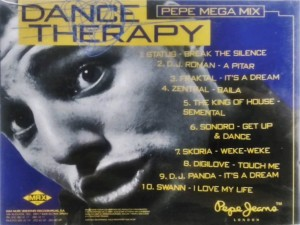 Dance Therapy 1995 Max Music Pepe Jeans London