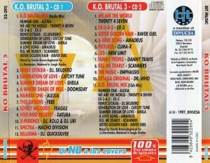 K.O. Brutal 3 Bit Music 1997