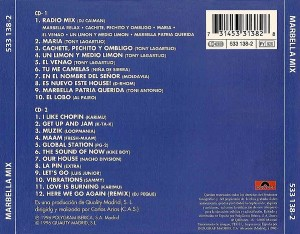 Marbella Mix 1996 Polydor Quality Madrid