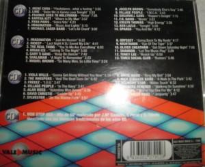 Music Box Vol. 1 Vale Music 1998 4 CD's Con La Mejor Música Disco De Los 80