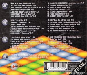 Music Box Vol. 2 Vale Music 1998 4 CD's Con La Mejor Música Disco De Los 80
