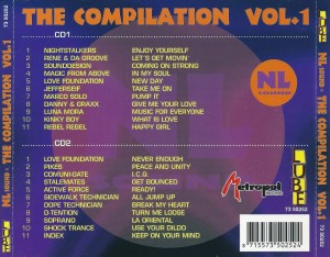 NL Sound The Compilation Vol. 1 1999 Metropol Records