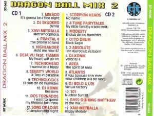 Dragon Ball Mix 2 Bit Music 1998