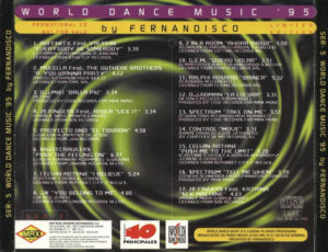 World Dance Music 1995 Max Music Fernandisco