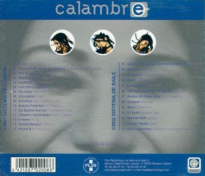 Calambre Techno - TeGiraLaCabeza 1999 Plus Recordings