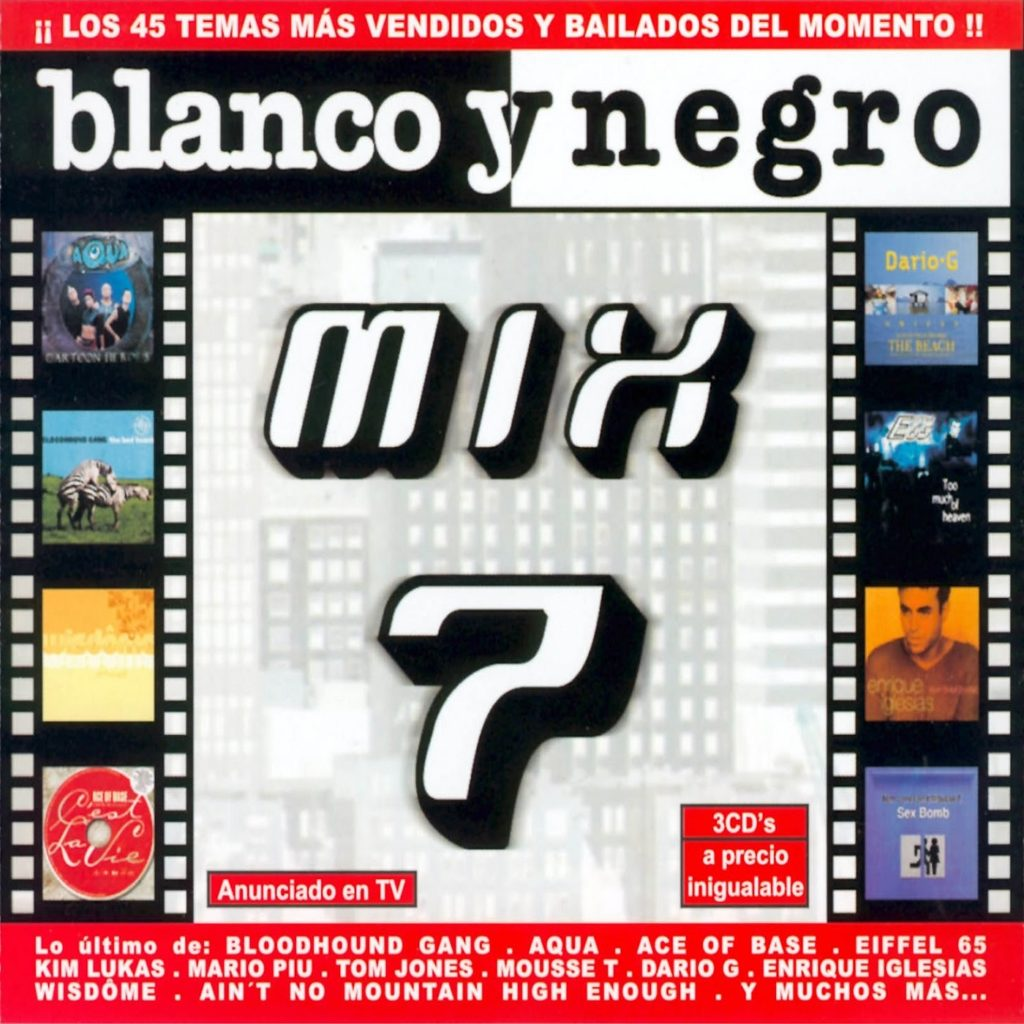 Blanco Y Negro Mix 7