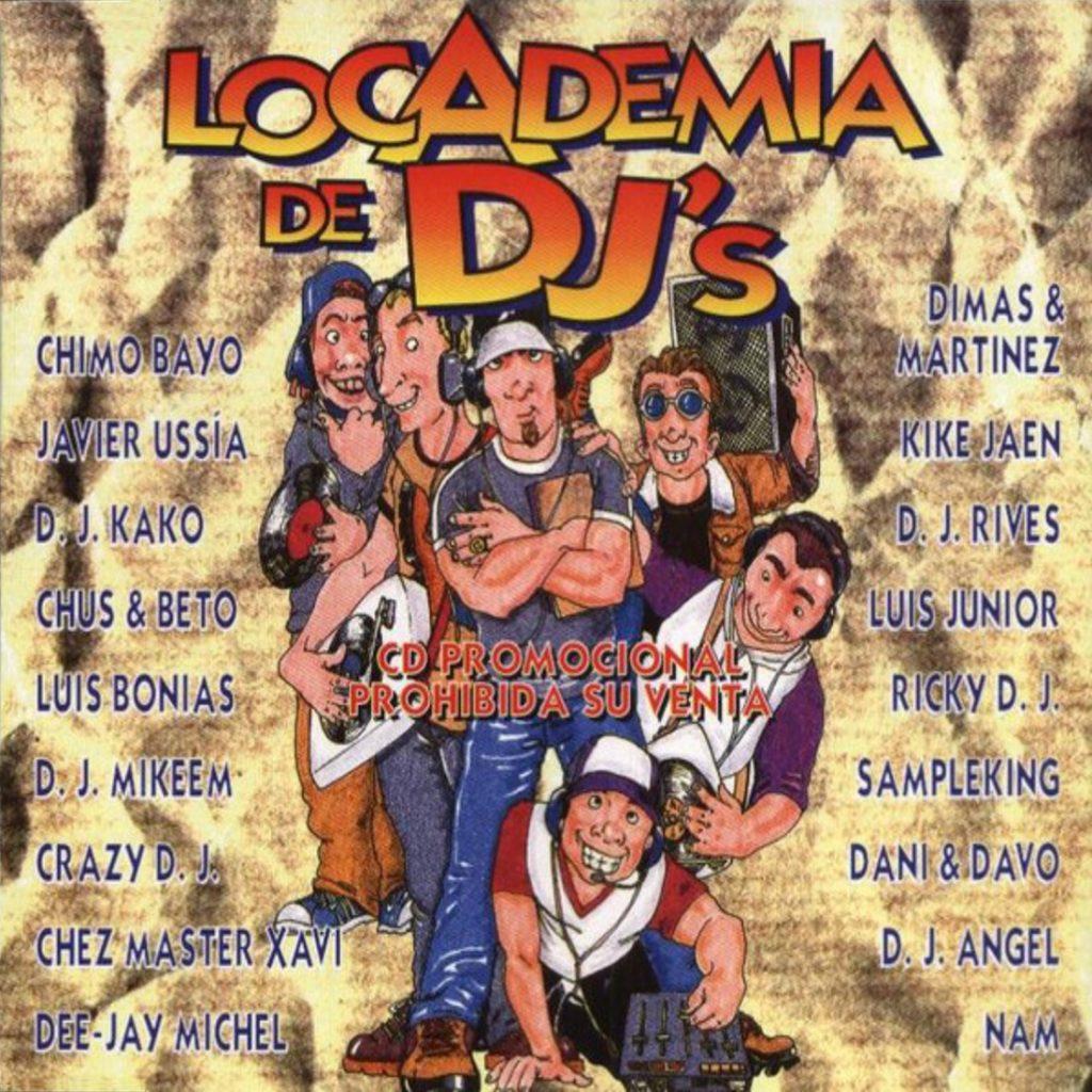 Locademia De Djs 2 Cds 1997 Music Factory Ellodance