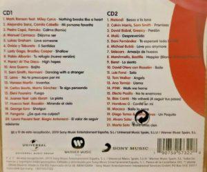 Los Números 1 De Cadena 100 2019 Recopilatorio Album Universal Music Sony Music Warner Music
