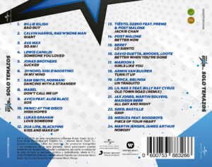MegaStar FM - Solo Temazos 2019 Vol. 5 Universal Music Album Recopilatorio