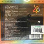 Los Nº 1 De 40 Principales 2019 Universal Music / Sony Music / Warner Music - Album Recopilatorio Disco