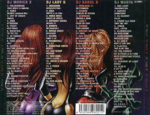 Women DJ's 2001 Star Luxe Sony Music  DJ Marta / DJ Karol B. / DJ Lady K / DJ Monica X