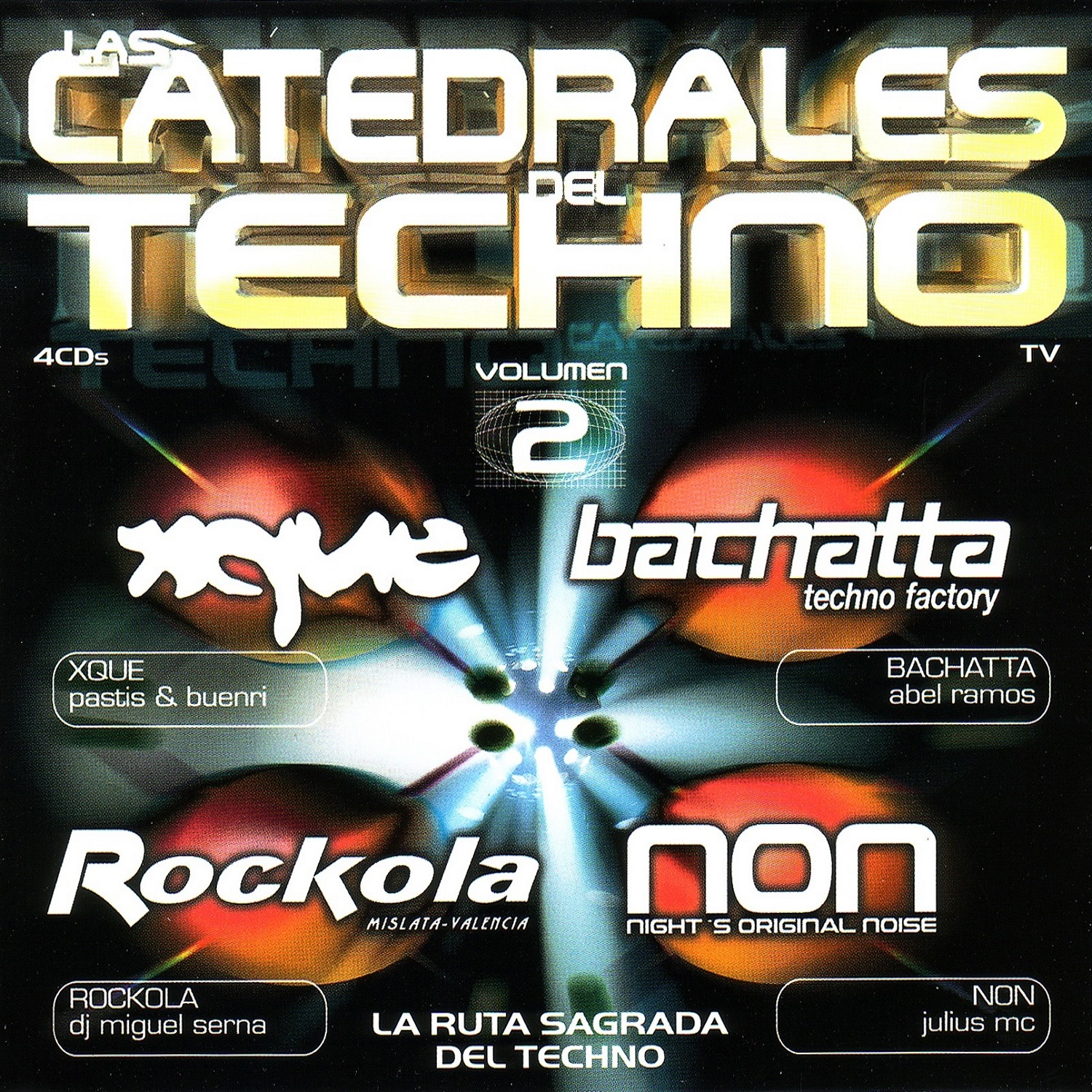 Las Catedrales Del Techno Vol. 2