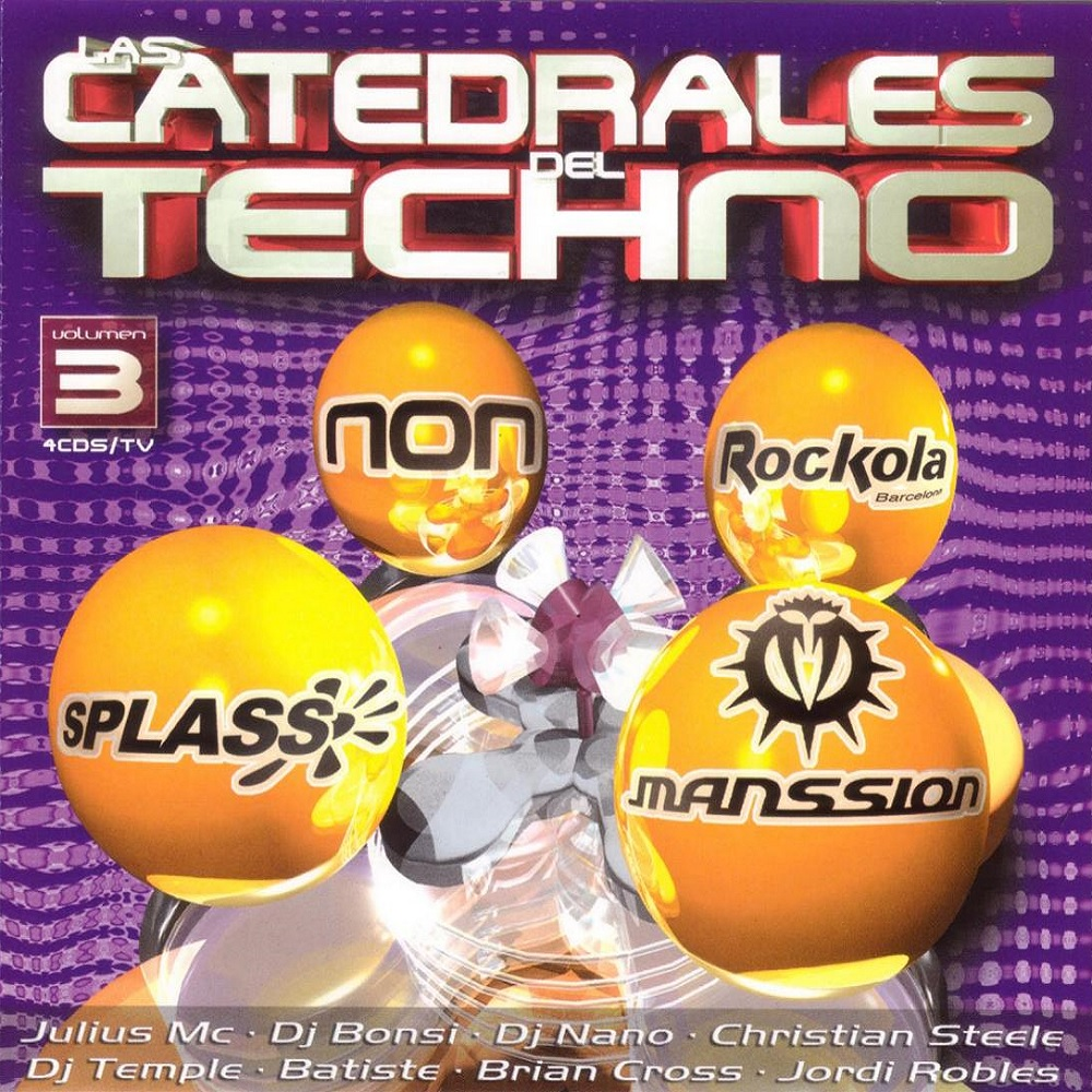 Las Catedrales Del Techno Vol. 3
