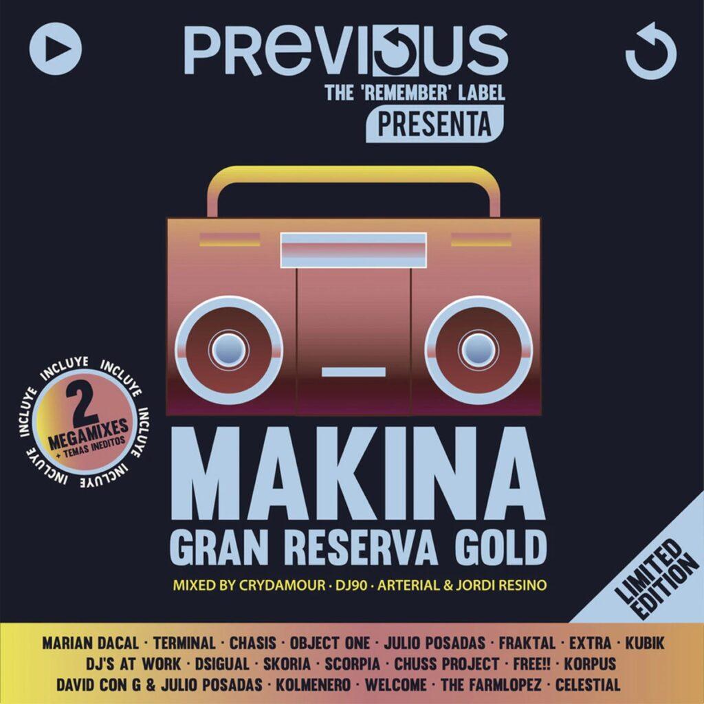 Makina Gran Reserva Gold