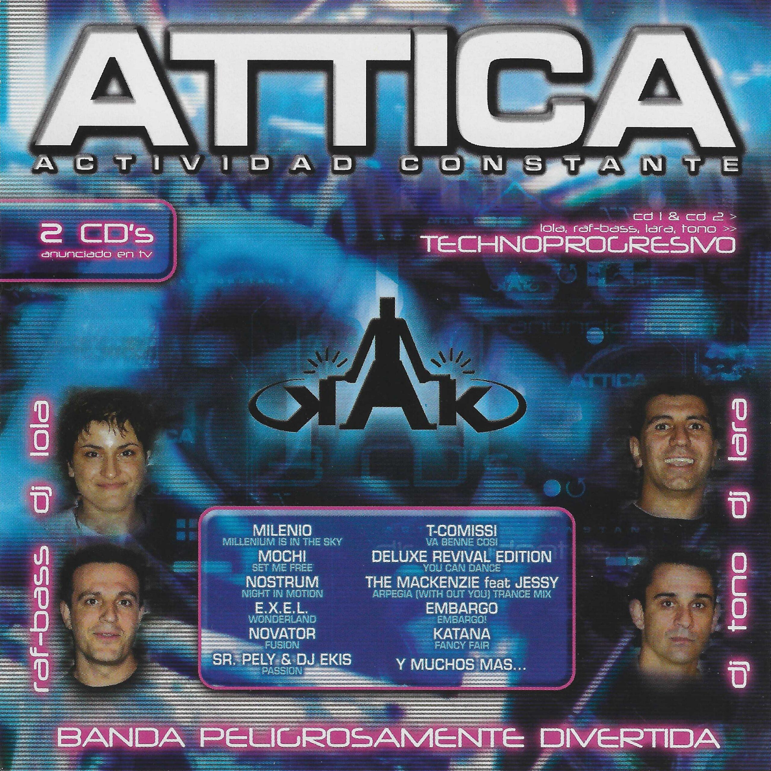 Attica – Actividad Constante Vol. 2