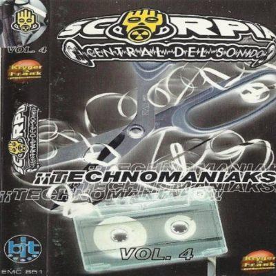 Scorpia Central del Sonido – Vol. 4 ¡¡Technomaniaks!!